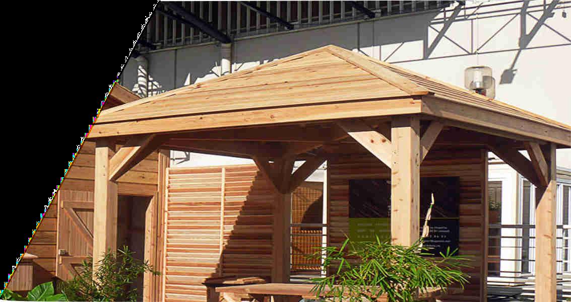 TK Bois Réunion Kiosque Pergola Mobilier Habillage Abri de ...